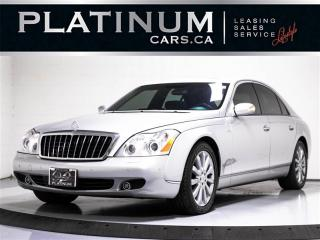 Used 2006 Maybach 57 S 6.0L V12, 600HP, NAV, HEATED VENTED SEATS, ENT SYS for sale in Toronto, ON