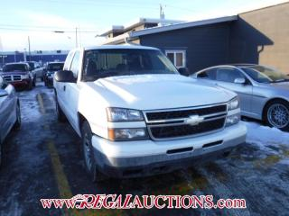 Used 2006 Chevrolet SILVERADO 1500 BASE EXT CAB 2WD for sale in Calgary, AB