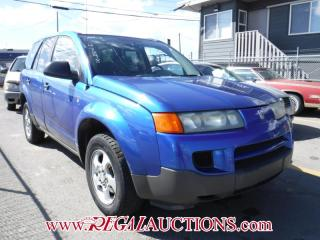 Used 2003 Saturn Vue 4D Utility 2WD for sale in Calgary, AB