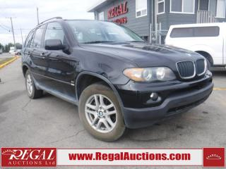 Used 2006 BMW X5 4D Utility AWD for sale in Calgary, AB