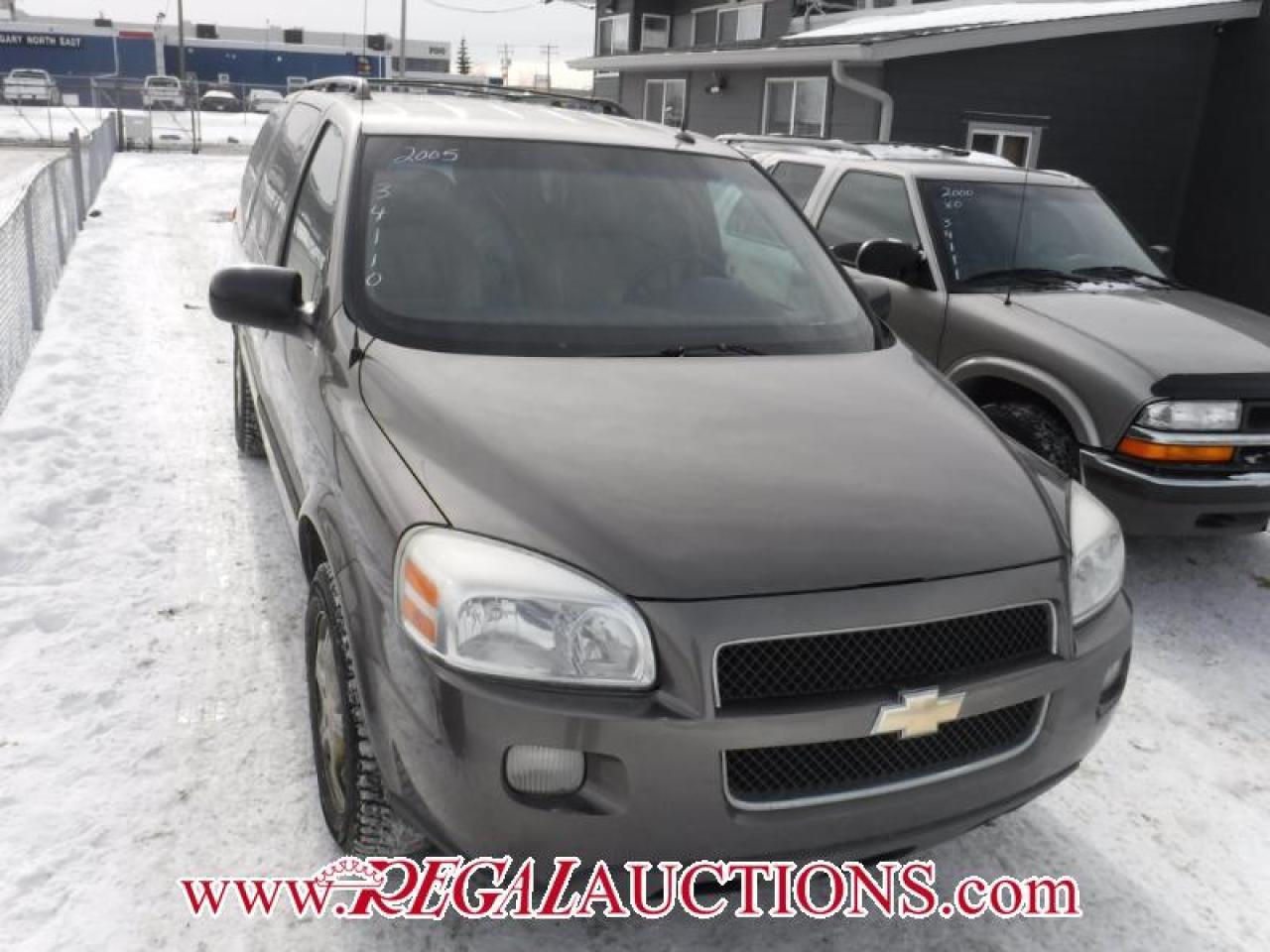 Photo of Bronze 2005 Chevrolet UPLANDER, 4D LS 4D EXT WAGON
