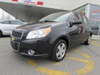 Used 2010 Chevrolet Aveo LT for sale in L'ile-perrot, QC