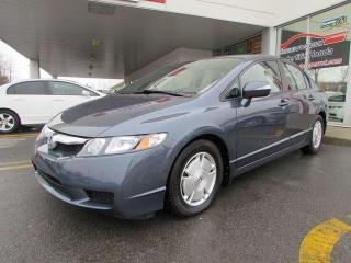 Used 2009 Honda Civic Hybrid for sale in L'ile-perrot, QC
