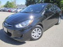 Used 2014 Hyundai Accent GL-Bluetooth-excellent service history for sale in Mississauga, ON
