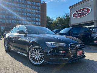 Used 2017 Audi A6 S LINE + PROGRESSIV PKG | ONE OWNER | NAVI | CAM | ROOF | for sale in Scarborough, ON