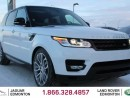 Used 2015 Land Rover Range Rover Sport V8 Supercharged DYNAMIC - CPO 6yr/160000kms manufacturer warranty included until May 6, 2021! CPO rates starting at 2.9%! LOCAL ONE OWNER TRADE IN | NO ACCIDENTS | NAVIGATION | SURROUND CAMERA SYSTEM | PARKING SENSORS | REVERSE TRAFFIC/BLIND SPOT/CL for sale in Edmonton, AB