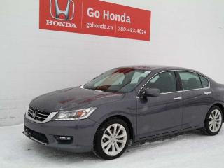Used 2015 Honda Accord Sedan V6 TOURING for sale in Edmonton, AB