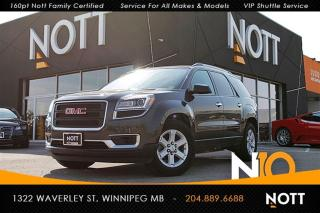 Used 2014 GMC Acadia SLE1 AWD Backup Camera 8-Passe for sale in Winnipeg, MB
