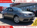 Used 2012 Kia Forte 2.0L LX+ BLUETOOTH| POWER GROUP| FULLY SERVICED for sale in Georgetown, ON
