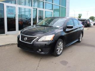 Used 2015 Nissan Sentra sunroof, heated seats, back up camera, navi, for sale in Edmonton, AB