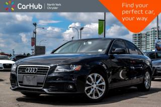 Used 2011 Audi A4 2.0T QUA PREM PLUS|Sunroof|Bluetooth|Heat.Frnt.Seats|Voice.Command| for sale in Thornhill, ON