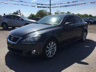 Used 2009 Lexus IS 250 Luxury * AWD * Leather * Sunroof * SAT Radio System for sale in London, ON