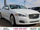 Used 2014 Jaguar XJ XJL 3.0 Portfolio - CPO 6yr/160000kms manufacturer warranty included until July 10, 2020! CPO rates starting at 0.9%! Local One Owner Trade In   Full Front End with 3M Protection   Rear Window Sunshades   Bluetooth   Blind Spot Monitor   Front Memory Seat for sale in Edmonton, AB
