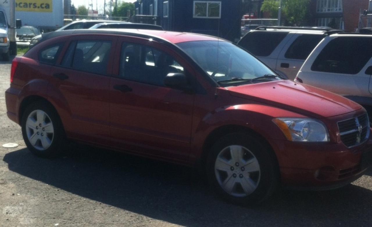 Photo of Red 2007 Dodge Caliber