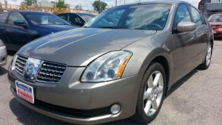 Used 2004 Nissan Maxima 103k !! AUTO, SKYVIEW ROOF, A-RIMS for sale in North York, ON
