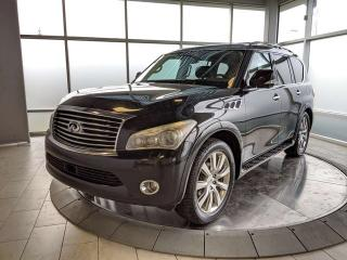 Used 2011 Infiniti QX56 7-Passenger for sale in Edmonton, AB