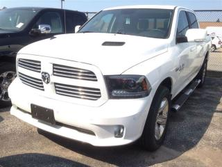 Used 2015 Dodge Ram 1500 CREW SPORT 4X4 NAV,LEATHER,PWR/SUNROOF,SPORT PERFO for sale in Ajax, ON