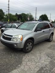Used 2005 Chevrolet Equinox CERTIFIED,ETESTED for sale in Etobicoke, ON