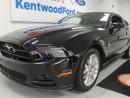 Used 2014 Ford Mustang 3.7L V6 manual Mustang coupe with heated seats for sale in Edmonton, AB