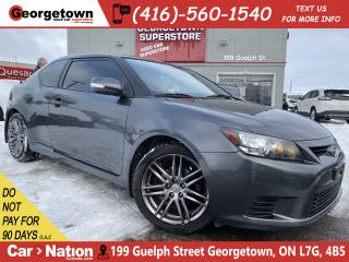 Used 2013 Scion tC MANUAL | SUNROOF | AUX/USB | ALLOYS | for sale in Georgetown, ON