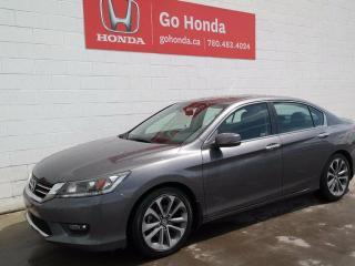 Used 2015 Honda Accord HONDA CERTIFIED, Sport, MANUAL for sale in Edmonton, AB