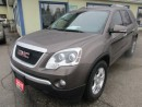 Used 2011 GMC Acadia PEOPLE MOVING SLE EDITION 7 PASSENGER 3.6L - V6.. CAPTAINS.. 3RD ROW.. BACK-UP CAMERA.. CD/AUX INPUT.. for sale in Bradford, ON
