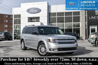 Used 2014 Ford Flex SEL AWD - BLUETOOTH - LEATHER - PANORAMIC ROOF - NAV for sale in Ottawa, ON