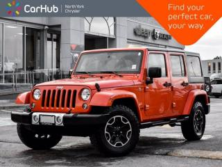 New 2015 Jeep Wrangler Unlimited Sahara 4x4 Navigation CD/DVD Aux Inputs for sale in Thornhill, ON