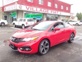 Used 2015 Honda Civic COUPE SI NAVIGATION,PWR/SUNROOF,BACKUP CAMERA,BLUE for sale in Ajax, ON