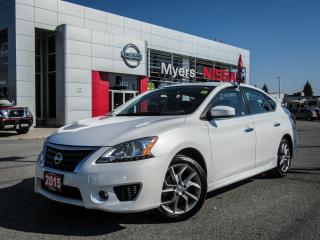 Used 2014 Nissan Sentra SR, NAVIGATION, SUNROOF, BACK UP CAMERA for sale in Orleans, ON
