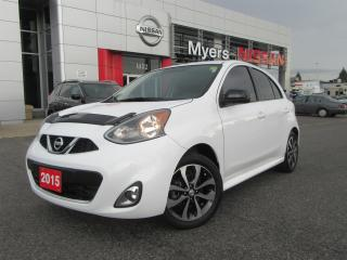 Used 2015 Nissan Micra SR, TINTED WINDOWS, BACK UP CAMERA, AUX for sale in Orleans, ON