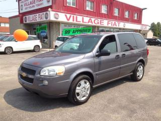 Used 2007 Chevrolet Uplander ***EXTREMELY LOW KMs*** for sale in Ajax, ON