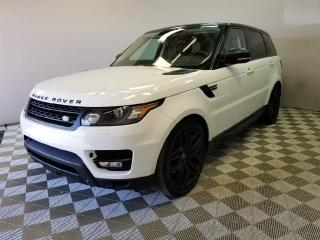 Used 2015 Land Rover Range Rover Sport V8 Supercharged Dynamic STEALTH for sale in Edmonton, AB