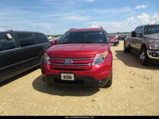 Used 2012 Ford Explorer Limited 4x4 HAIL DAMAGED REDUCED for sale in Lacombe, AB