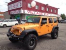 Used 2012 Jeep Wrangler Unlimited Rubicon Unlimited ***ORANGE***LEATHER INT.*** for sale in Ajax, ON