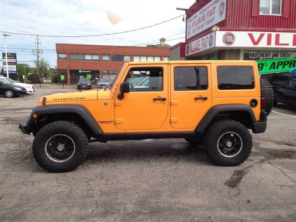 Jeep Wrangler For Sale Ontario >> Used 2012 Jeep Wrangler Unlimited Rubicon Unlimited ***ORANGE***LEATHER INT.*** for Sale in Ajax ...