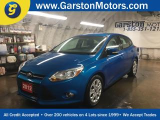 Used 2012 Ford Focus SE*KEYLESS ENTRY*POWER WINDOWS/LOCKS/HEATED MIRRORS*CLIMATE CONTROL*HEATED FRONT SEATS*MICROSOFT SYNC PHONE CONNECT*CRUISE CONTROL*FOG LIGHTS*AM/FM/CD/AUX/USB* for sale in Cambridge, ON