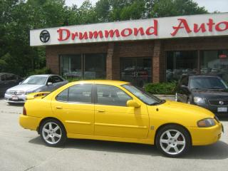 Used 2005 Nissan Sentra SER 6 Speed for sale in Owen Sound, ON