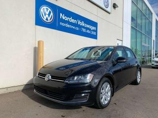 Used 2015 Volkswagen Golf HIGHLINE W/ TECH PKG - LEATHER / SUNROOF for sale in Edmonton, AB