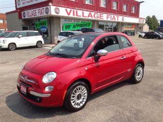 Used 2014 Fiat 500 Lounge ***LEATHER UPHOLSTERY*** HEATED MIRRORS*** for sale in Ajax, ON