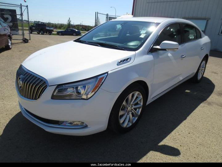 used 2015 buick lacrosse leather hail damaged reduced for sale in lacombe alberta. Black Bedroom Furniture Sets. Home Design Ideas