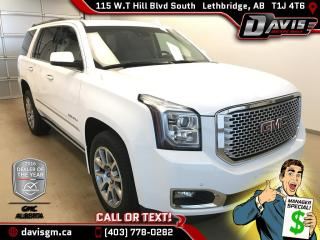 Used 2015 GMC Yukon Denali-Heated/Cooled Leather,Navigation for sale in Lethbridge, AB