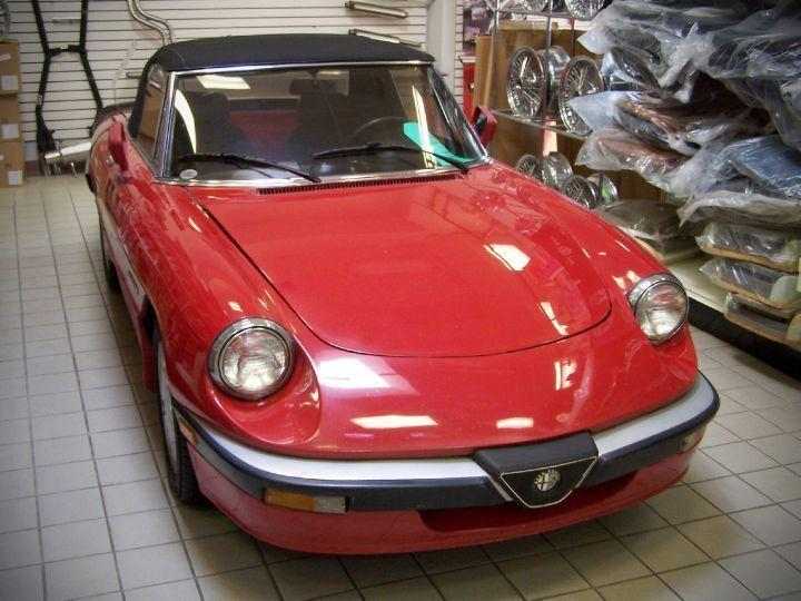 Used Alfa Romeo Spider For Sale In Oakville Ontario Carpagesca - Alfa romeo spider for sale