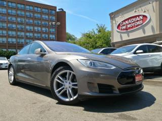 Used 2015 Tesla Model S 90 | CLEAN CARFAX | AUTO  PILOT | NAVI | CAM | BSM | for sale in Scarborough, ON
