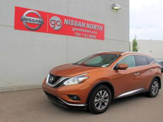 Used 2015 Nissan Murano SL AWD NAVIGATION SUNROOF & MORE for sale in Edmonton, AB