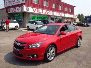 Used 2012 Chevrolet Cruze LT Turbo  ***TURBOCHARGED MOTOR*** for sale in Ajax, ON
