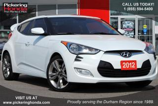 Used 2012 Hyundai Veloster Base NAVI SUNROOF REAR CAMERA for sale in Pickering, ON