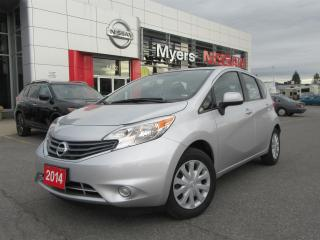 Used 2014 Nissan Versa SV,BACK UPCAMERA, A/C, BLUETOOTH for sale in Orleans, ON