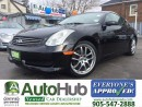Used 2006 Infiniti G35 COUPE-NAVIGATION-LEATHER-SUNROOF-ALLOY for sale in Hamilton, ON