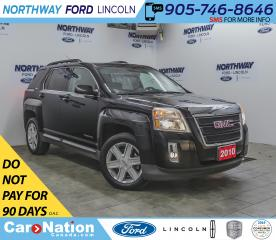 Used 2010 GMC Terrain SLE-2 | KEYLESS ENTRY | CRUISE | BACKUP CAM | AUX for sale in Brantford, ON